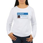 Macebook Women's Long Sleeve T-Shirt