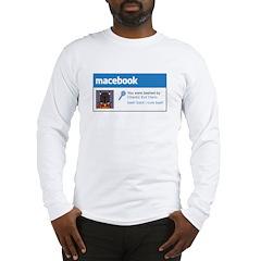 Macebook Long Sleeve T-Shirt