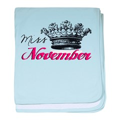 Girl of the Month baby blanket