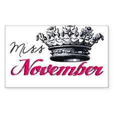 Girl of the Month Decal