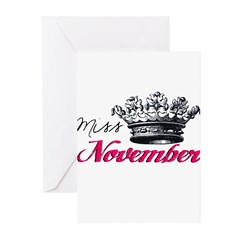 Girl of the Month Greeting Cards (Pk of 20)