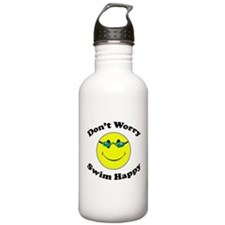 Don't Worry Swim Happy Stainless Water Bottle 1.0L
