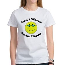 Don't Worry Swim Happy Tee