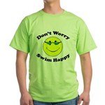 Don't Worry Swim Happy Green T-Shirt