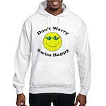 Don't Worry Swim Happy Hooded Sweatshirt