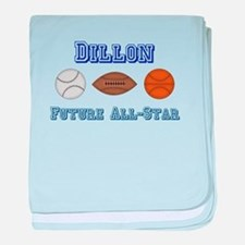Dillon - Future All-Star baby blanket