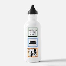 Eat Sleep Act Water Bottle