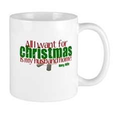 All I Want Navy Wife Mug