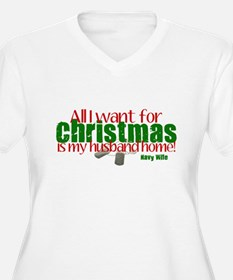 All I Want Navy Wife T-Shirt