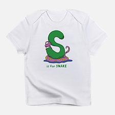 S is for Snake Infant T-Shirt