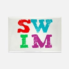 SWIM Rectangle Magnet (10 pack)