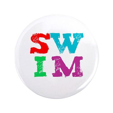 "SWIM 3.5"" Button (100 pack)"