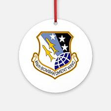 416th Bomb Wing Ornament (Round)