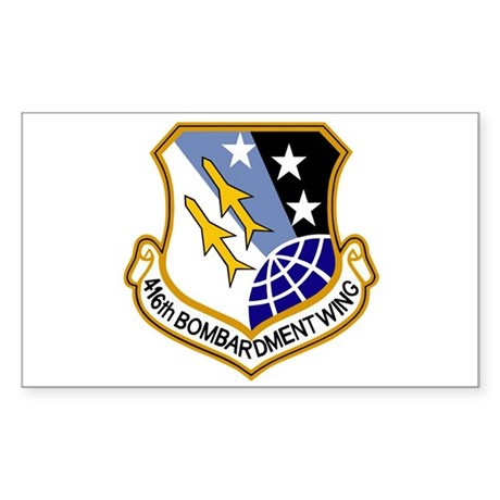 416th Bomb Wing Sticker (Rectangle)