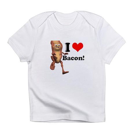 I Heart (Love) Bacon Infant T-Shirt