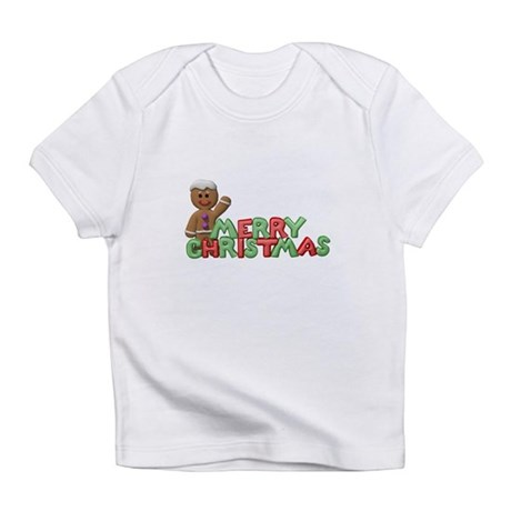 Merry Christmas Gingerbread C Infant T-Shirt
