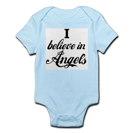 I BELIEVE IN ANGELS Infant Creeper