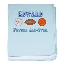 Edward - Future All-Star baby blanket