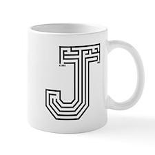 Letter J Maze Mug