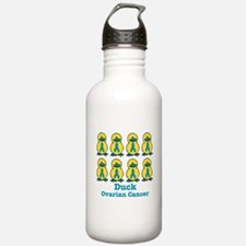 Ducks for a Cause Ovarian Can Sports Water Bottle