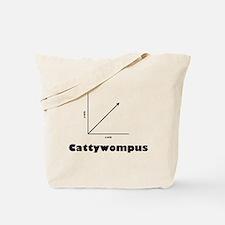 Cattywompus Tote Bag
