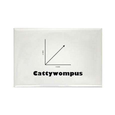Cattywompus Rectangle Magnet