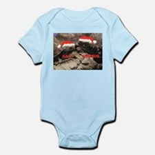 Bah Humbug Santa Turtles Infant Bodysuit