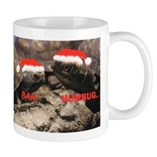Bah Humbug Santa Turtles Mug