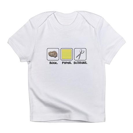 Rock Paper Scissors Infant T-Shirt