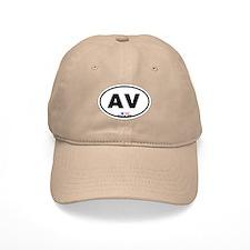 Avalon NJ - Oval Design Baseball Cap