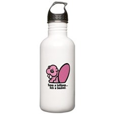 Lick a Beaver Water Bottle