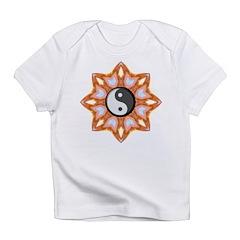 Ying Yang Sunburst Infant T-Shirt