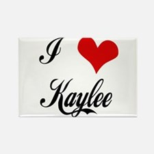 I Love Kaylee Rectangle Magnet