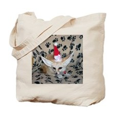 Holiday Zoey, Fennec Fox Tote Bag