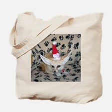 Holiday Zoey, Fennec Fox Tote Bag