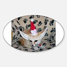 Holiday Zoey, Fennec Fox Decal