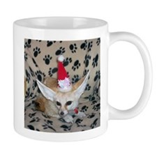Holiday Zoey, Fennec Fox Mug
