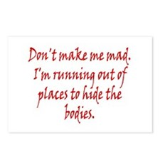 Don't Make Me Bad Postcards (Package of 8)