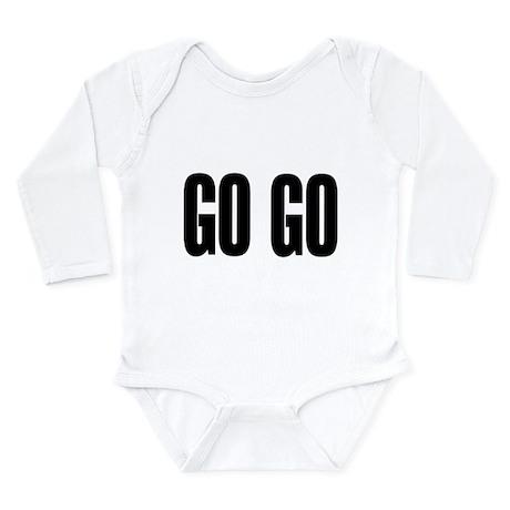 GO GO Long Sleeve Infant Bodysuit