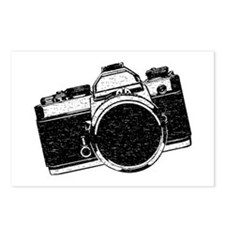 Distressed SLR Camera Postcards (Package of 8)