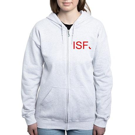 ISFJ Women's Zip Hoodie