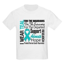 Ovarian Cancer Tribute I Wear T-Shirt
