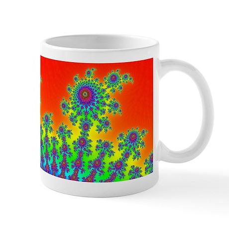 Fractal Fireworks Mug