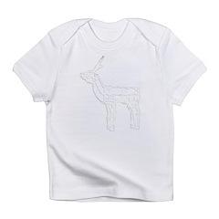 Christmas Lights Reindeer Infant T-Shirt
