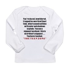 Teen Zone, 13th Gifts Long Sleeve Infant T-Shirt