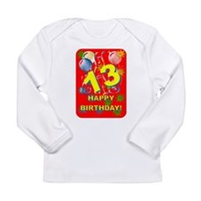 13th Birthday Long Sleeve Infant T-Shirt