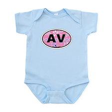 Avalon NJ - Oval Design Infant Bodysuit