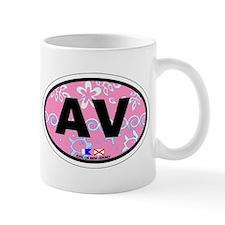 Avalon NJ - Oval Design Mug