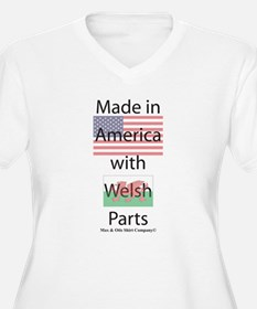 Made in America-Welsh T-Shirt