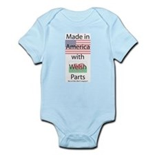 Made in America-Welsh Infant Bodysuit